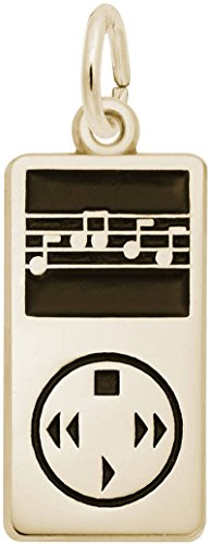Rembrandt MP3 Player Charm - Metal - 14K Yellow (Mp3 Player Charm)