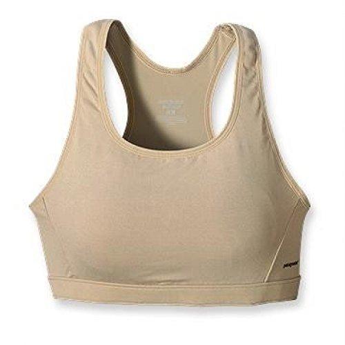 - Patagonia Capilene Womens Sports Bra Tan Khaki (Size M- AB)