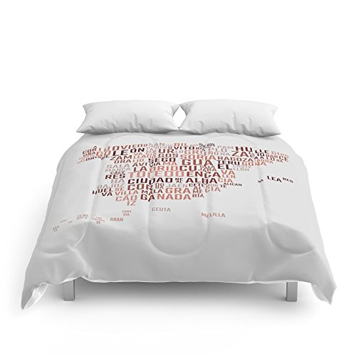 Society6 Spain Comforters Queen: 88'' x 88'' by Society6
