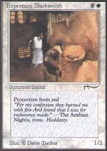 Magic: the Gathering - Repentant Blacksmith - Arabian Nights (Magic Nights Gathering Arabian)