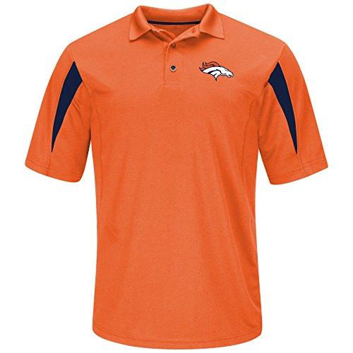dult men NFL Plus S/Synthetic Polo,3XT,Orange (Denver Broncos Polo)
