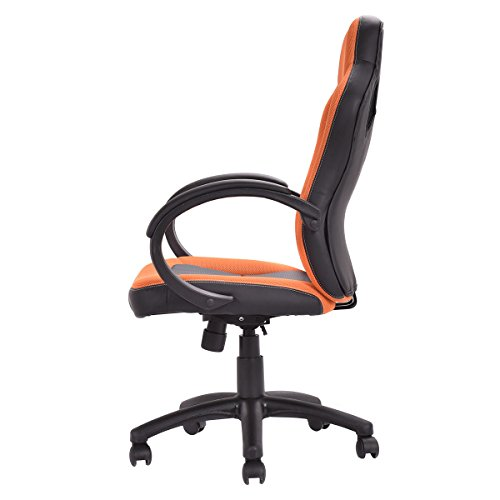 giantex executive racing style chair adjustable computer