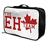 Lsbury Canada On The Eh TeamLightweight Large Capacity Portable Luggage Bag, Immigration Bag