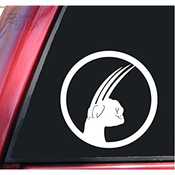 Wolverine x men vinyl decal sticker 6 x 6 white