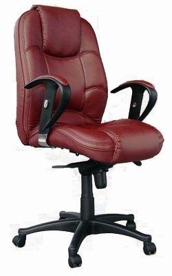 Chellgrove TJ0910 Luxury Medium Back Leather Office Chair