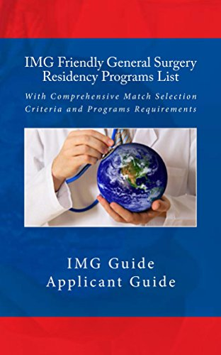 IMG Friendly General Surgery Residency Programs List: With Comprehensive Match Selection Criteria and Programs Requirements Pdf