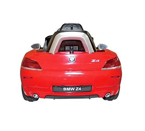 Bmw Z4 Games: Red BMW Z4 Electronic Ride On Car Toy 6V Kids + Parent