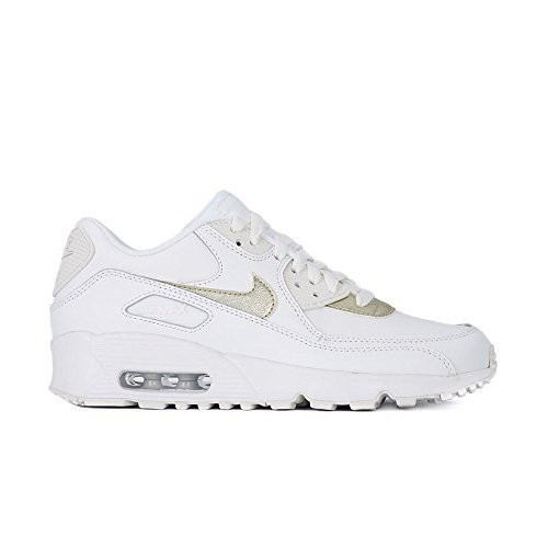 80a799094c Nike Air Max 90 LTR Summit White/Metallic Gold Star (GS) (6.5 M US ...