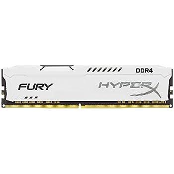 Kingston Technology HyperX FURY White 8GB 2133MHz DDR4 CL14 DIMM 1Rx8 (HX421C14FW2/8)