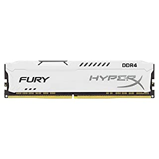 Kingston Technology HyperX Fury White 8GB 2133MHz DDR4 CL14 DIMM 1Rx8 (HX421C14FW2/8) (B06XKVM9JL) | Amazon price tracker / tracking, Amazon price history charts, Amazon price watches, Amazon price drop alerts