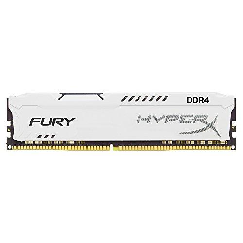 Kingston Hyperx Pc Memory (Kingston Technology HyperX FURY White 8GB 2133MHz DDR4 CL14 DIMM 1Rx8 (HX421C14FW2/8))