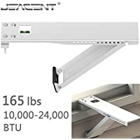 Jeacent Universal AC Window Air Conditioner Support Bracket Heavy Duty, Up to 165 lbs, for 10,000-24,000 BTU