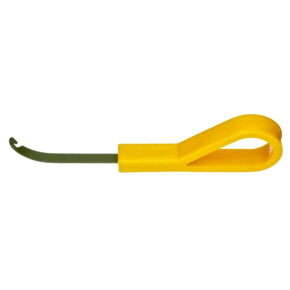 Jonard JIC-3209 Xylan Insulated Lacing Needle w/Yellow Molded Grip Handle - 4pk by Jonard