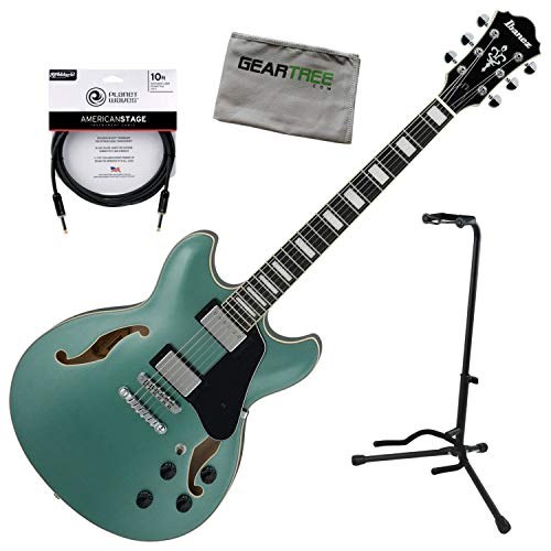 Ibanez AS73 OLM AS Artcore Olive Metallic Hollow Body, used for sale  Delivered anywhere in USA