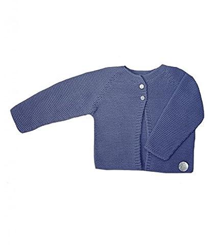 Chaqueta bebé punto Eve Children Azul Navy