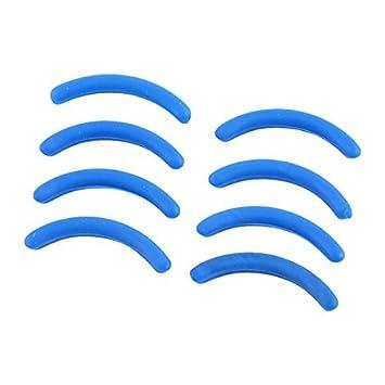 Amazon.com: Lady Blue goma rizador de pestañas cojines del ...