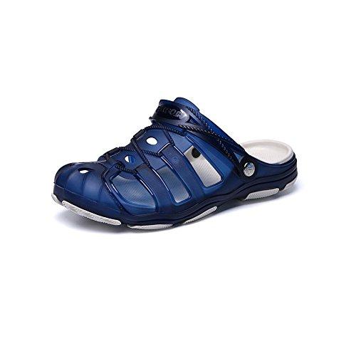 DALL Sandali sportivi Leggero E Confortevole Scarpe Da Uomo Pantofole Sandali Scarpe Da Spiaggia Pantofole Da Bagno Fondo Spesso (Colore : Giallo, dimensioni : EU 44/UK 9/CN 44) Giallo