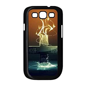 Samsung Galaxy S3 9300 Cell Phone Case Covers Black abstract Painting SA9743999