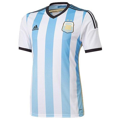 Adidas Argentina Authentic Home Reproductor Issue Camiseta 2014/15 - pequeño: Amazon.es: Deportes y aire libre