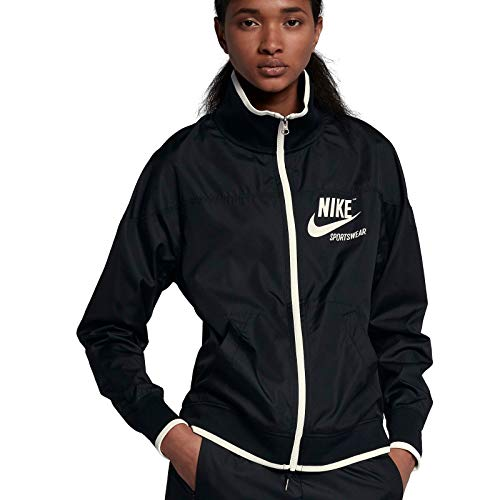 (NIKE Women's Sportswear Black (Large))