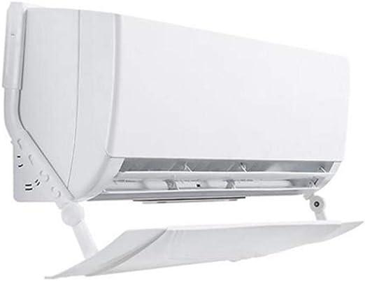 Deflector para Aire Acondicionado para Persianas De Techo Aire Acondicionado,Deflector De Aire Que Sopla Anti Directa Ajustable,Deflectores De Aire Acondicionado para El Hogar//Oficina,Pl/áStico Livia