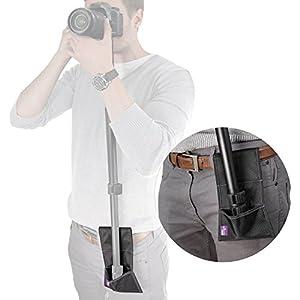 Camera Monopod Stabilizer Belt Pouch by Altura Photo