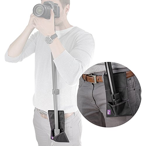 Camera Monopod Stabilizer Belt Pouch by Altura Photo