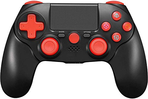 TPFOON PS4 Controller, Wireless Controller Gamepad Joystick for PlayStation 4/Slim/Pro/PC, Touch Pad Controller with…