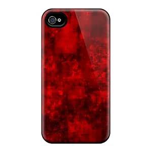CaroleSignorile Cases Covers For Iphone 6 - Retailer Packaging Red Black Chaos Protective Cases