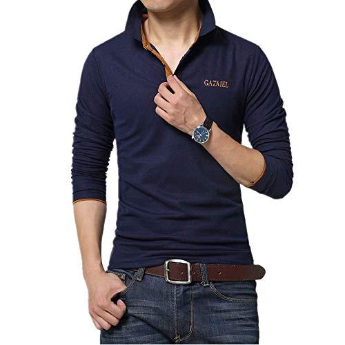 ポロシャツ 半袖 長袖同型 ゴルフウェアメンズ Tシャツ 上着 GAYATO スポーツ シンプル カジュアル  おしゃれ  父の日ギフト 春 夏 秋 プレゼント 全6色