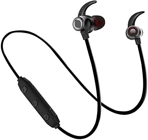 Bluetooth Headphones, Wireless Sports Earphones,with Mic IPX5 Waterproof HD Stereo Sweatproof Earbuds,Gym Running Workout Noise Cancelling Headsets