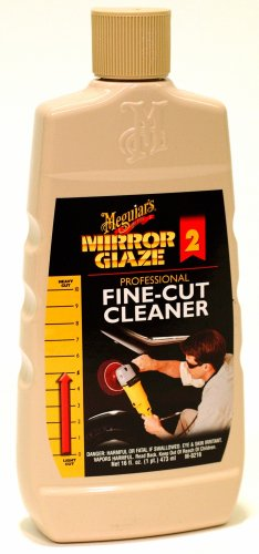 Meguiars #02 Fine Cut Cleaner, 16 oz (Meguiars Fine Cut Cleaner)