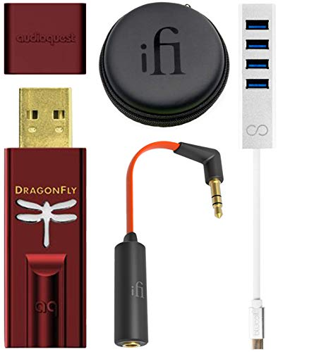 AudioQuest Dragonfly Red USB DAC/Headset Amplifier/Preamp Bundle