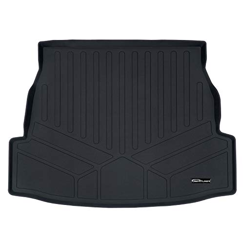 MAX LINER D0418 All Weather Custom Fit Cargo Liner Trunk Floor Mat Black for 2019 Toyota RAV4 ()