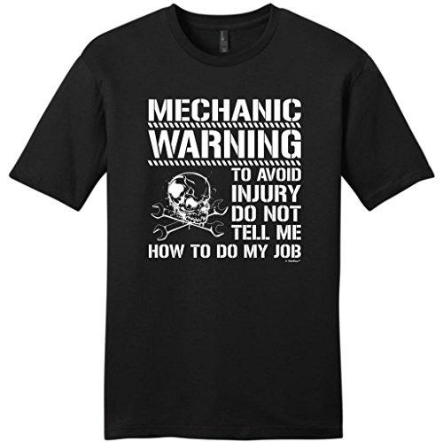 Avoid Injury Mechanic Young T Shirt