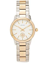 Womens The Collins Watch, Gold/Silver/Ivory, One Size