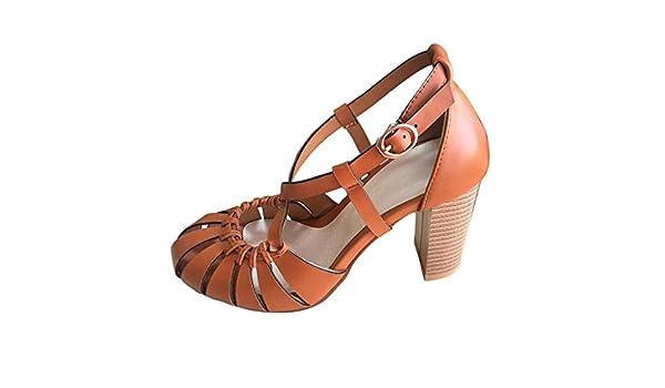ღLILICATღ Zapatos de Baile Latino para Mujer Salsa Tango Moderna ...