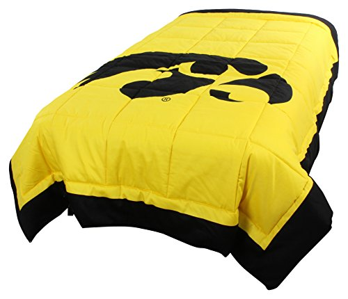 Hawkeyes 2 Sided Reversible Comforter, Queen ()