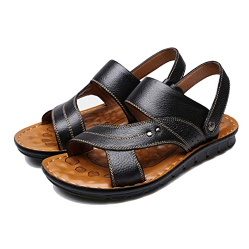 Scarpa da Sandali Scarpa Nero Uomo in per Piedi Pelle Stagno Sport di di Pantofola Uomo Antiscivolo a Acquatici Nudi SExfRxq
