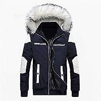 Clearance! Daoroka Men Winter Warm Long Jacket Thick Fur Hoodies Coat Long Sleeve Pockets Fashion Casual Cool Outwear Tops