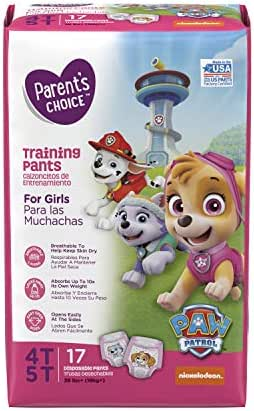 Diapers: Parent's Choice Girls Training Pants