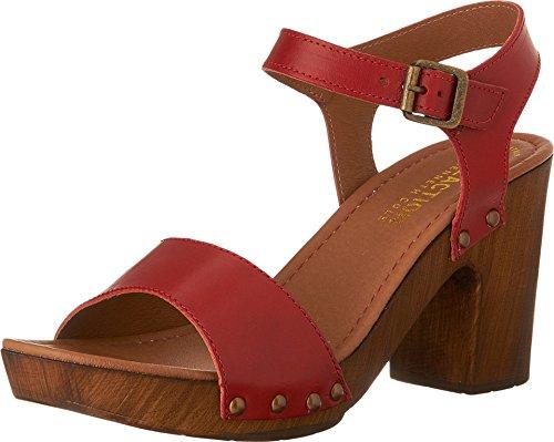 Kenneth Cole Reaction Women's Log Set Heeled Sandal (8 B(M) US, (Platform 8 Mule)