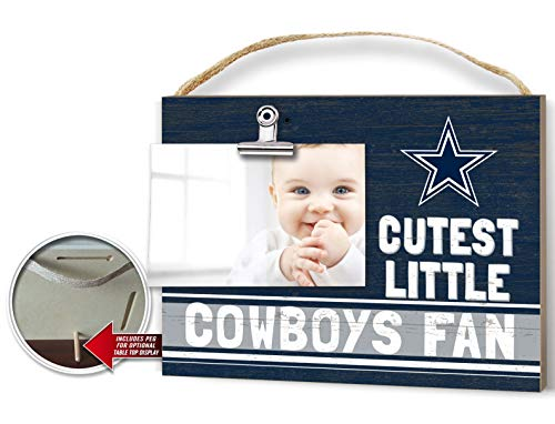 KH Sports Fan Clip It Colored Baby Logo Photo Frame Dallas Cowboys Dallas Cowboys Picture Frame