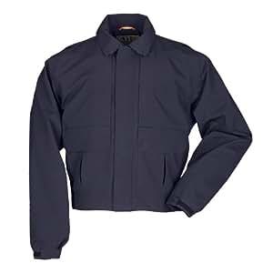 5.11 Men's Softshell Patrol Duty Jacket, Dark Navy, Large