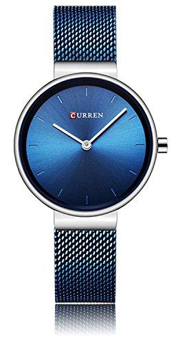Youwen Fashion Casual Simple Quartz Women Wristwatch Popular Female Clock Stainless Steel Watch