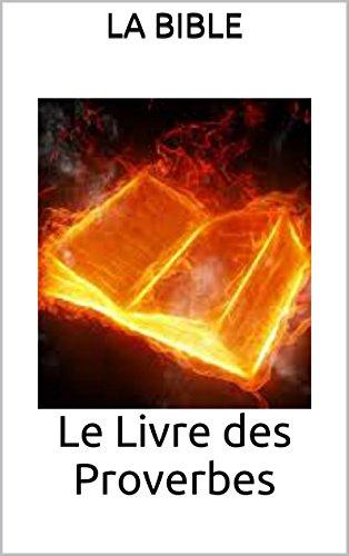 Le Livre Des Proverbes French Edition Kindle Edition By