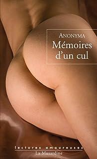 Mémoires d'un cul par  Anonyma