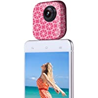 720° 2MP Panoramic Camera Dual Spherical Fisheye Lens with Real-time Sharing Compatible Android Smart-phones