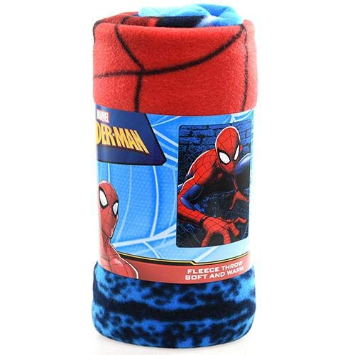 NORTHWEST ENTERPRISES Spiderman Web Lines 45×60 Fleece Throw Blanket
