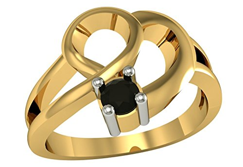 tvs-jewels-attractive-14k-gold-plated-925-sterling-silver-heart-shape-engagement-ring-black-brillian